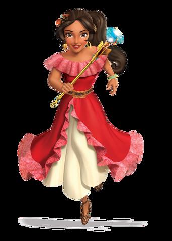 File:Princess Elena 3D render.png