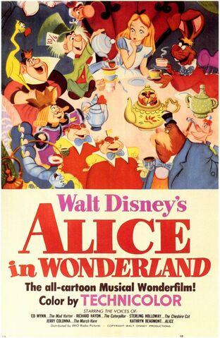 File:Alice In Wonderland Poster 1951.jpg