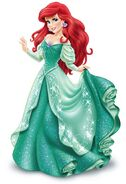 Princess Ariel in her redesign