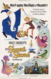 The Sword in the Stone 1963 poster