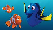 Nemo, Dory and Marlin
