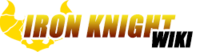 Iron Knight Wiki Wordmark
