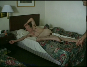 Naked Steve-O In Hotel