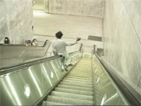 Fat Lip Escalator Slide