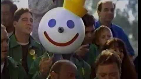Jack in the Box 1996 - Son's Football Game Jumbo Jack 90s Commercial