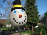 SnowmanAntennaBall