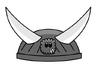 Stone Viking Helmet