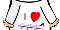 I Heart Planes T-Shirt