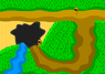 Nav outside cave