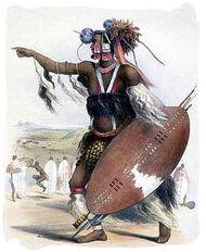 Zulu-chief-leading-his-army-zulu