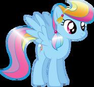 516px-Crystal Rainbow Dash