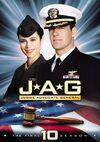 JAG Season 10 DVD cover