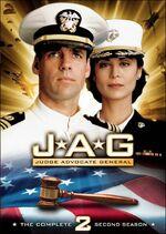 JAG Season 2 DVD cover