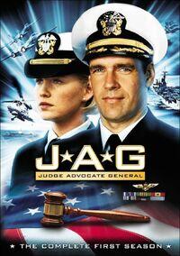 JAG Season 1 DVD cover