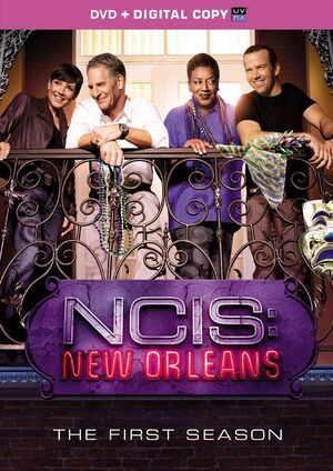 NCIS New Orleans Season 1 DVD cover