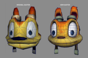 Daxter polygon comparison