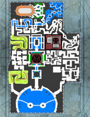 Haven City map from Jak II