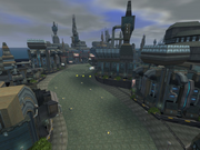 Haven City (race track) render 1