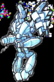 Hover guard (death bot) concept art