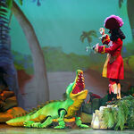 Hook& Tick-Tock-Disney Junior Live Pirates and Princesses show