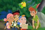 Jake&crew with Peter-Peter Pan Returns02