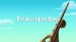 The Never Land Games titlecard