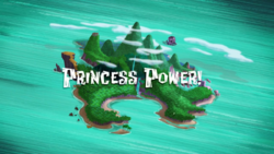 Princess Power! titlecard