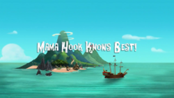 Mama Hook Knows Best! titlecard