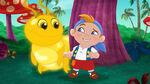 Cubby&Golden Caterpillar-Big Bug Valley!