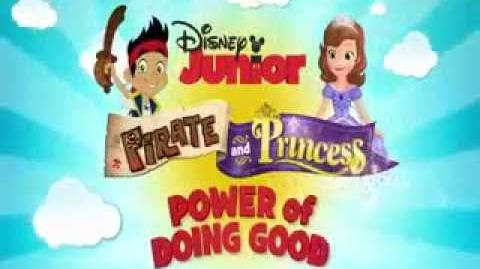 Sofia The First Feat Jake and The Neverland Pirates Power Of Me