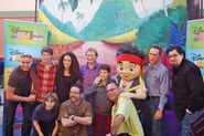 Jake and the Never Land Pirates Crew