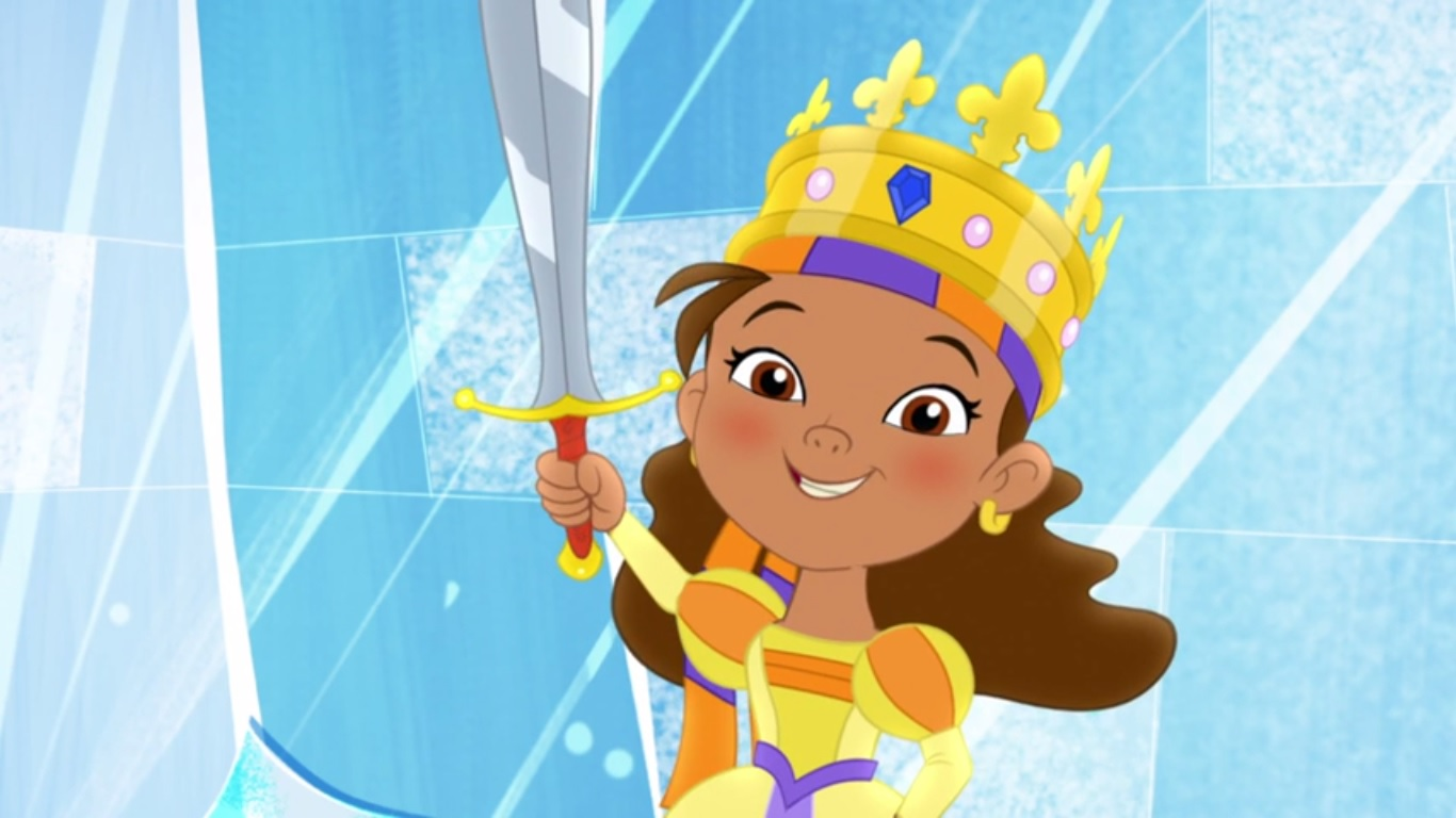 i u0027m queen izzy bella jake and the never land pirates wiki