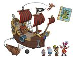 FP Brands- Jake Pirate Ship concept art