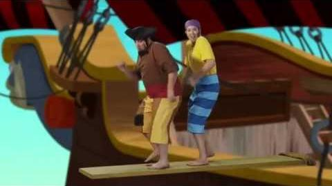 Jake and the Never Land Pirates Pirate Band Walkin' the Plank Disney Junior