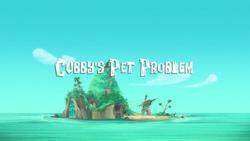 Cubby's Pet Problem titlecard