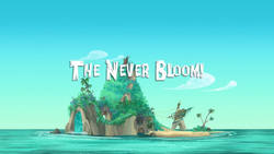 The Never Bloom! titlecard