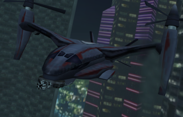 File:Dr. No's tiltrotor aircraft (GoldenEye - Rogue Agent).png
