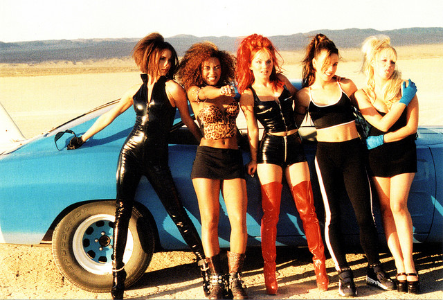 File:The spice look like bond girls in there say you'll be there music video.jpg