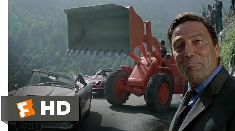 The Italian Job (4 10) Movie CLIP - Wrecking the Aston Martin (1969) HD
