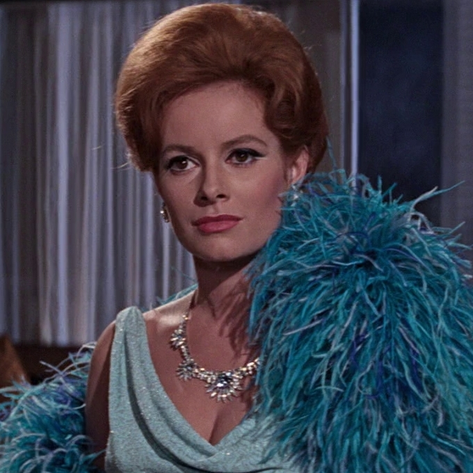 Image result for luciana paluzzi as fiona volpe