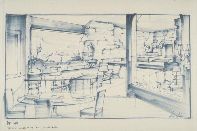 File:Ken Adam - Dr No Underground Apartment.jpg