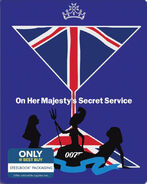 On Her Majesty's Secret Service (2015 Blu-ray SteelBook)