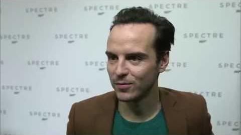 "Spectre- Andrew Scott ""Denbigh"" Interview on the new James Bond Movie"