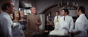 Creating Blofeld's duplicates (Diamonds are Forever)