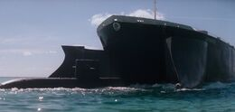 The Spy Who Loved Me - Liparus engulfs a Submarine