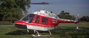 FYEO - Bell 206 Jetranger arrives for Bond