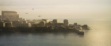 Raoul Silva's Island (Helicopters from a distance)