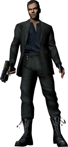 Hunter, GoldenEye - Rogue Agent (transparent)
