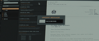 Spectre - Nine Eyes email correspondence