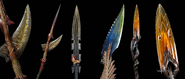 Na'vi Weapons Spear Heads